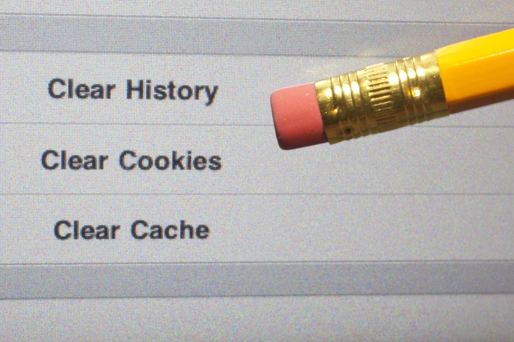 online clear cookies