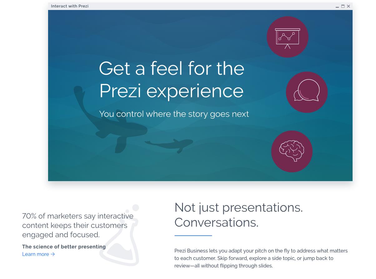 Prezi Free Presentation