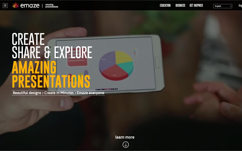 Emaze free presentation
