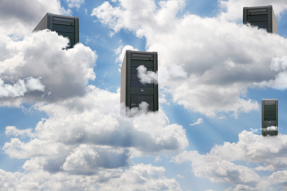 computers in the cloud