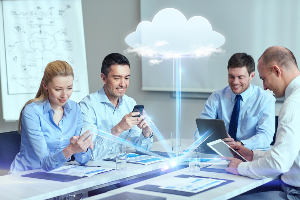 work devices on cloud