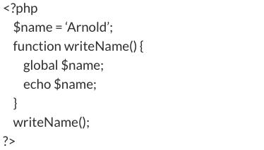 php code snip